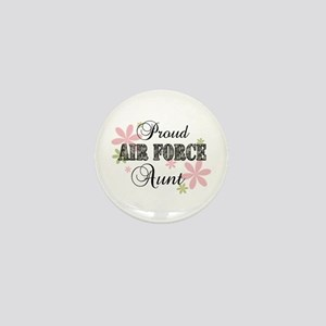 Air Force Aunt [fl camo] Mini Button